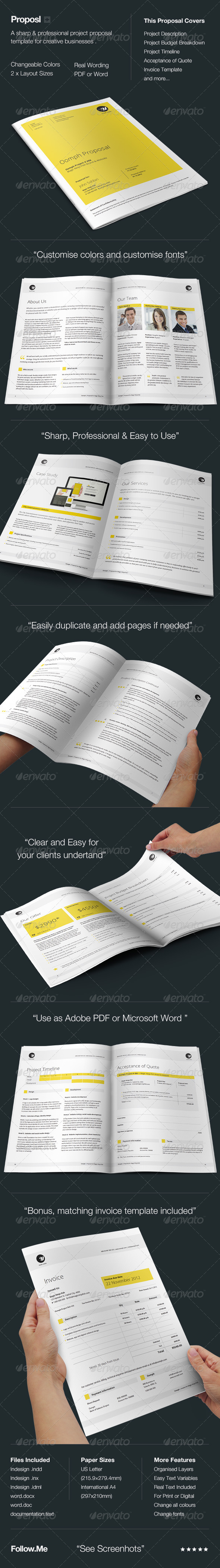 GraphicRiver Proposal Template 3523858 Created: 2