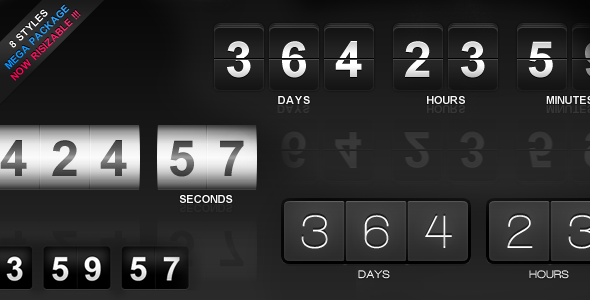 CodeCanyon jCountdown Mega Package 3443480