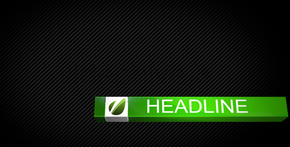 VideoHive Cube Lower Third 3497799
