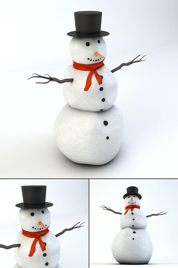 3DOcean Snowman 3525508