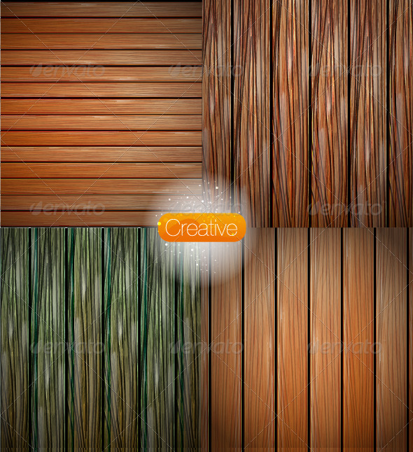 GraphicRiver Vector Wood Texture 3525566