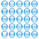 Shine Glass Icons - GraphicRiver Item for Sale