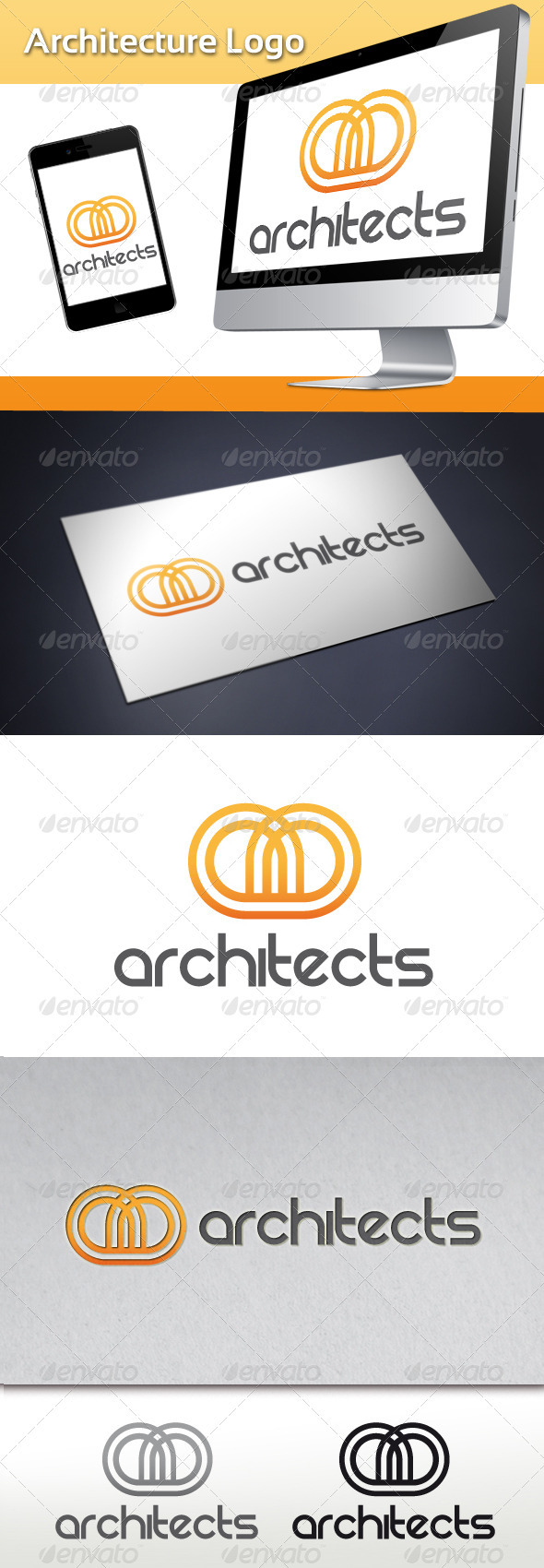 GraphicRiver Architecture Logo 3504862