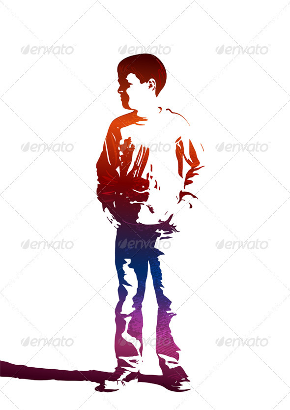 GraphicRiver Colorful Child 3526226