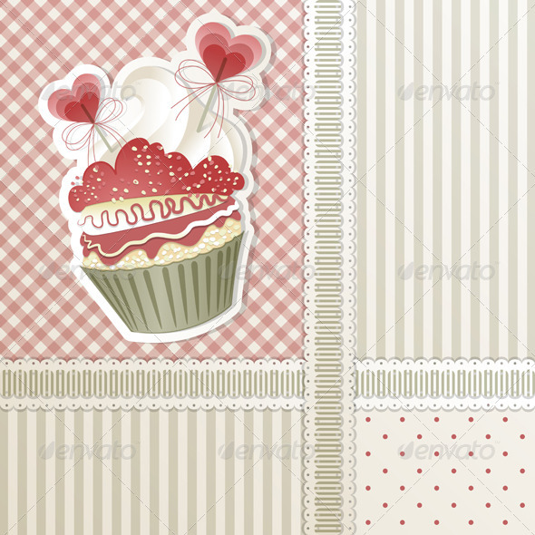 GraphicRiver Love Cupcake 3526322
