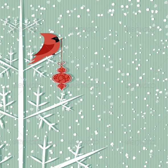 GraphicRiver Red Cardinal 3526367