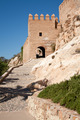Alcazaba fortress entrance, Almeria, Spain - PhotoDune Item for Sale