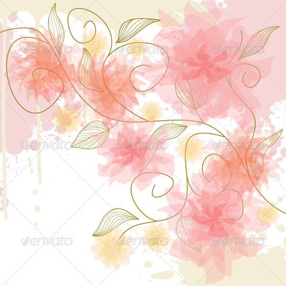 GraphicRiver Flowers 3526460