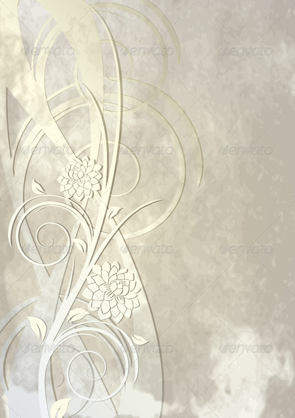 GraphicRiver Elegant Flowers 3526471