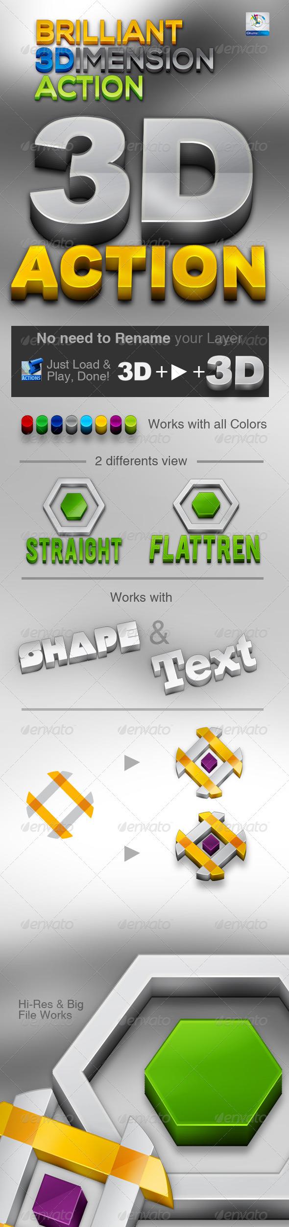 GraphicRiver Brilliant 3D Action 3527349