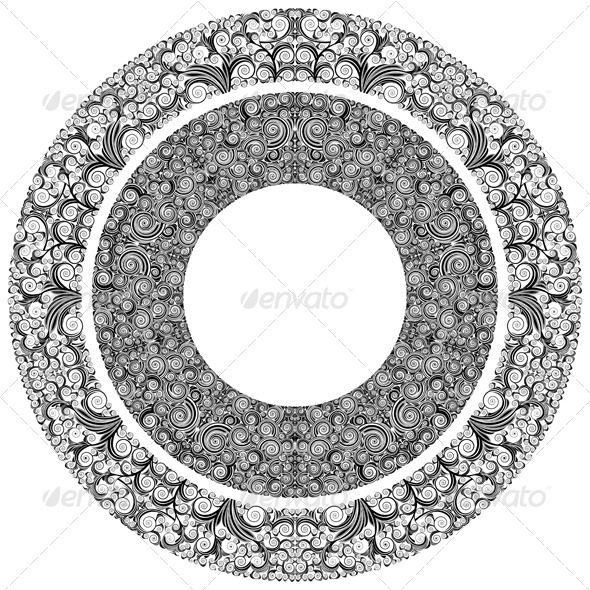 GraphicRiver Ornamented Circles 3528416