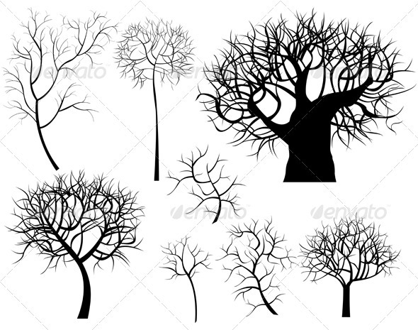 GraphicRiver Trees 3528444