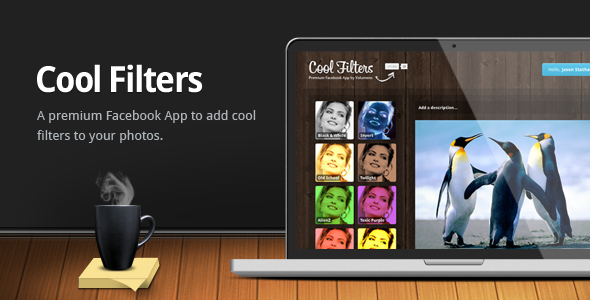 CodeCanyon Cool Filters Facebook App 3356887
