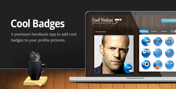 CodeCanyon Cool Badges Facebook App 180908