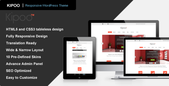 Kipoo - Responsive Business WordPress Theme - Business Corporate