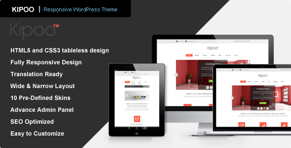 Kipoo - Responsive Business WordPress Theme
