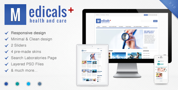 Medicals - Premium Responsive Medical Theme - Health & Beauty Retail