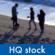 People on the Beach - VideoHive Item for Sale
