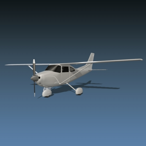 Cessna 182 Skylane - 3DOcean Item for Sale
