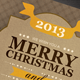 Typo Chirstmas Card - GraphicRiver Item for Sale