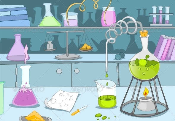 GraphicRiver Chemical Laboratory 3530964