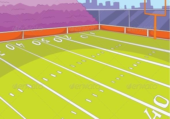 GraphicRiver American Football Stadium 3530974