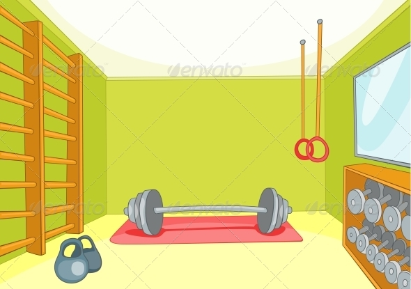 GraphicRiver Gym Room 3530978
