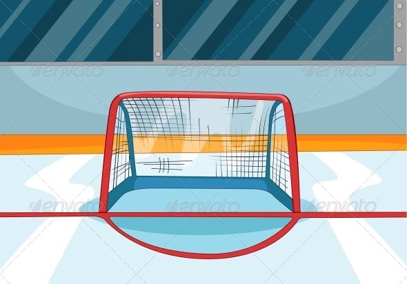 GraphicRiver Hockey Rink 3530979