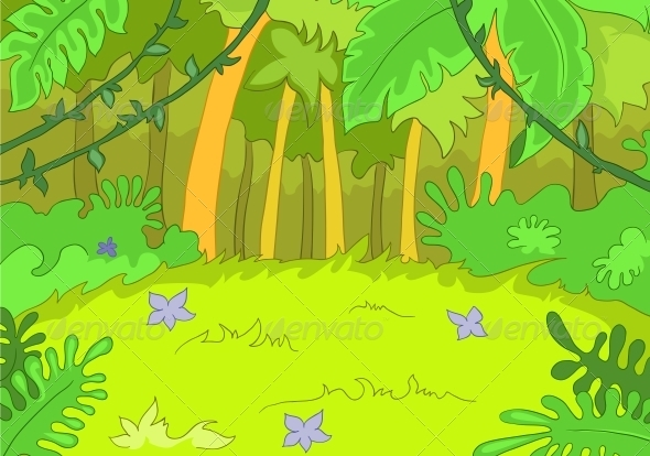 GraphicRiver Jungley Glade 3530988