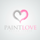 Paint Love Logo - GraphicRiver Item for Sale