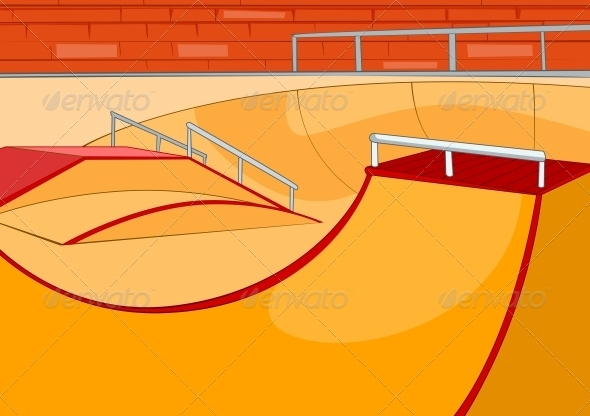 GraphicRiver Skate Ramp 3531035