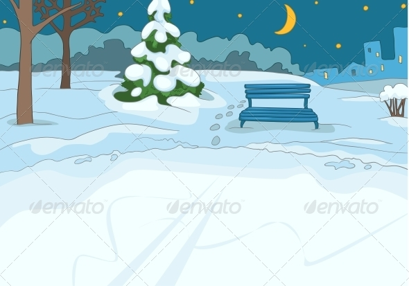 GraphicRiver Outdoor Skating Rink 3531043
