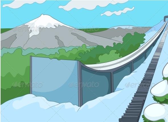 GraphicRiver Ski Resort 3531067