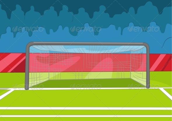 GraphicRiver Soccer Field 3531069