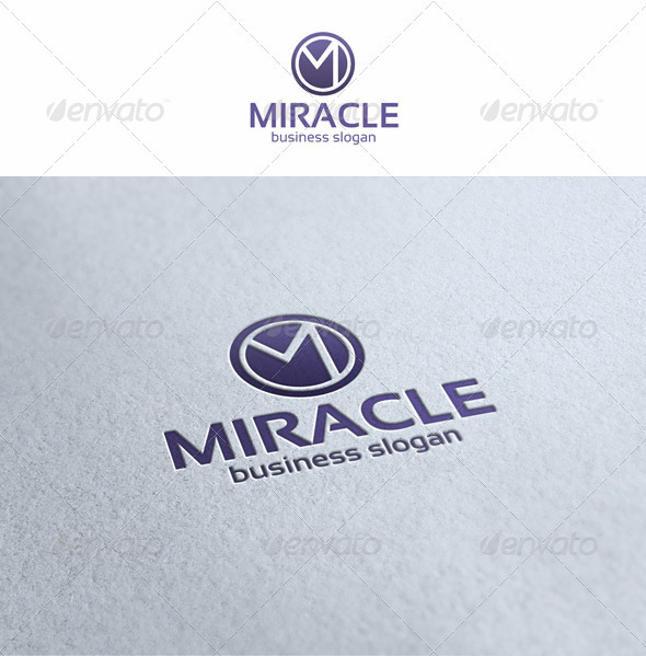 GraphicRiver Miracle M Logo Template 3531074