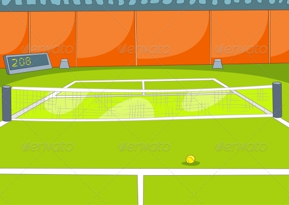 GraphicRiver Tennis Court 3531078