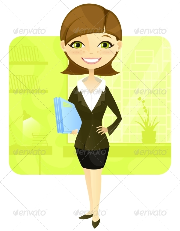 GraphicRiver Business Woman 3531129