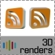 RSS Icon 3D - GraphicRiver Item for Sale