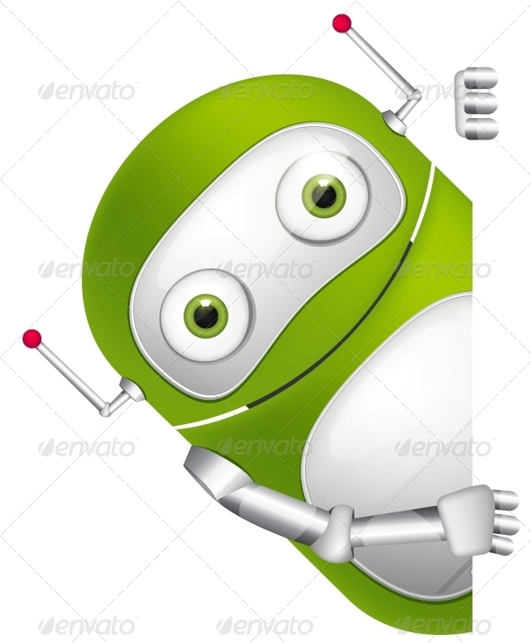 GraphicRiver Cute Robot 3531182