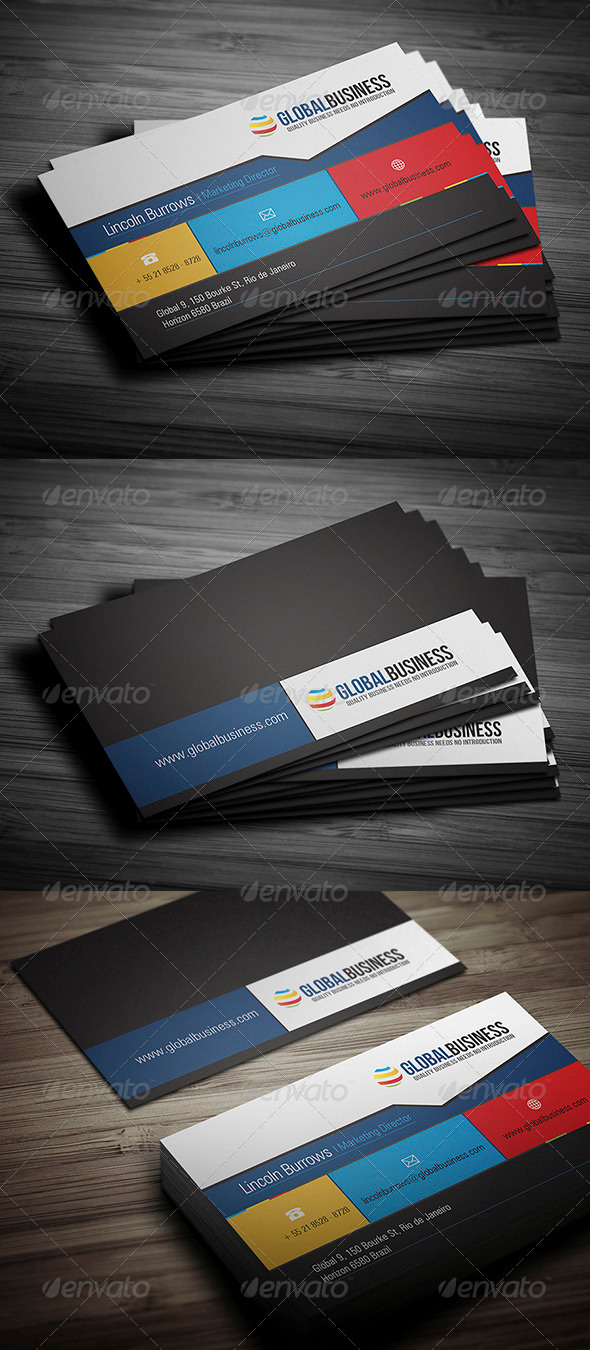 GraphicRiver Corporate Business Card 21 3509299