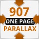 907 - Responsive One Page Parallax - ThemeForest Item for Sale