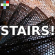 Running on Metal Stairs - AudioJungle Item for Sale