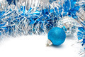 blue ball and garland - PhotoDune Item for Sale