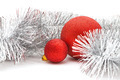 red balls and garland - PhotoDune Item for Sale