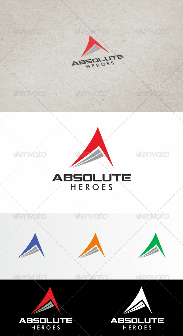 GraphicRiver Absolut Heroes Logo 3496870