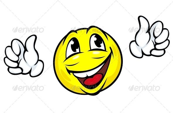 GraphicRiver Happy Face Icon 3533339