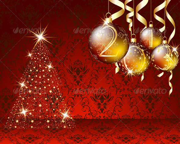GraphicRiver Christmas Card 3533457