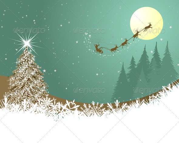 GraphicRiver Christmas Card 3533461