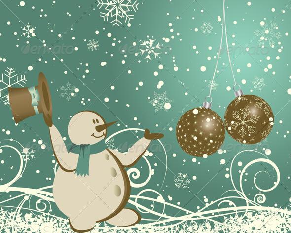 GraphicRiver Christmas Card 3533525