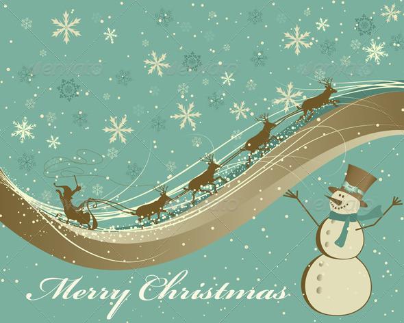 GraphicRiver Christmas Card 3533575